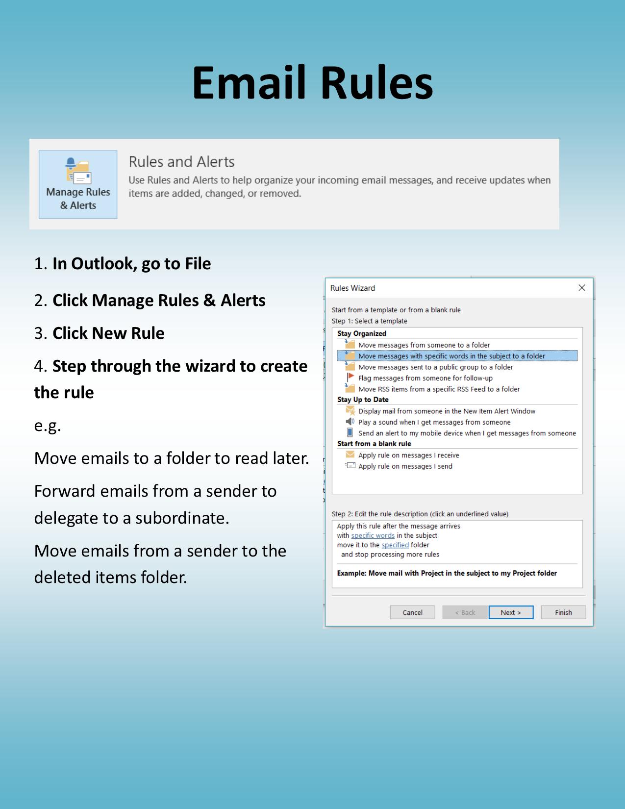 Inbox Zero – Tip 8