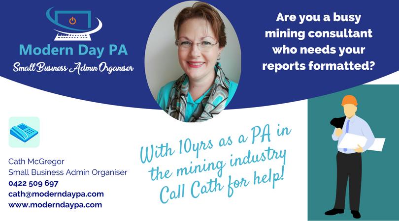 Mining consultant reports